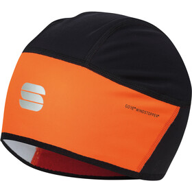 Sportful Helmet Liner, orange sdr/black